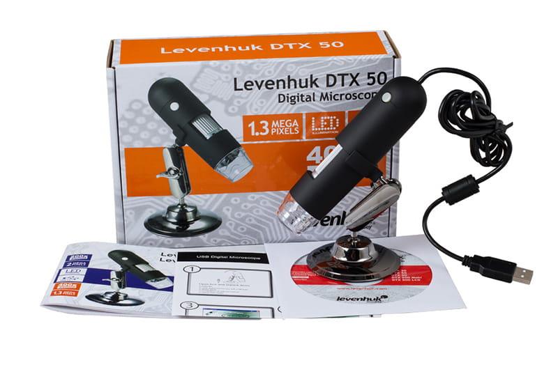 Mikroskop cyfrowy levenhuk dtx 50 mikroskop cyfrowy usb ze statywem